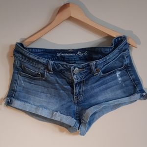 Distressed American Eagle Outfitters Jean shorts